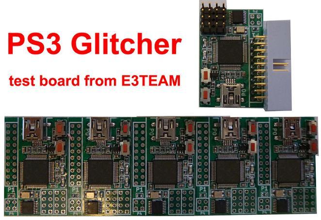 1-PS3-Glitcher-test-board-fro