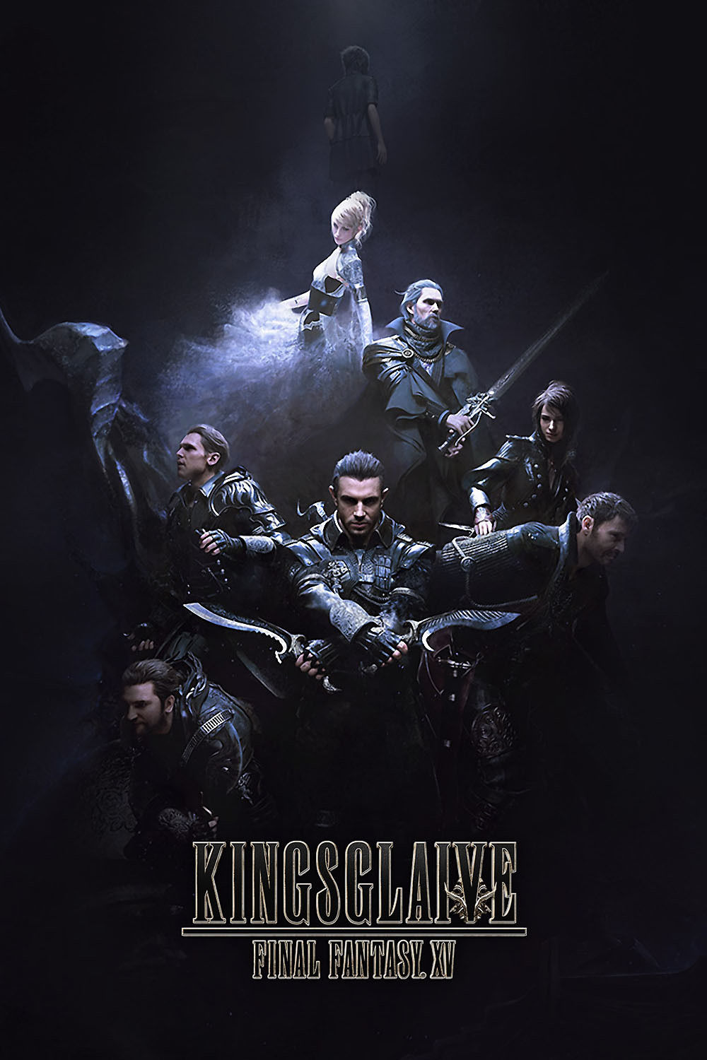 Kingsglaive Final Fantasy XV poster