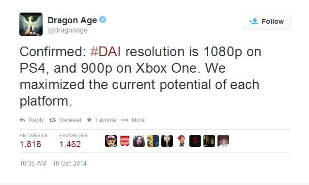 dragon age tweat