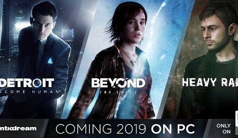 Beyond: Two Souls, Heavy Rain и Detroit